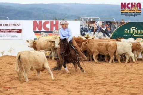 NCHA OF GERMANY – FUTURITY 2016 CHAMPIION – SHERI MASON & TIME TO BOON